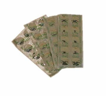Náhradní tablety pro test kyslíku - 10 ks
