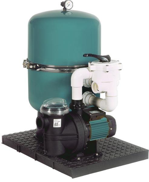 Písková filtrace SF 400 / Blaumar I1 50 + ZDARMA DOPRAVA