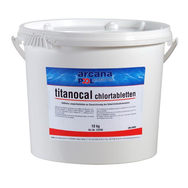 Arcana Chlorové tablety 10 kg - Titanocal