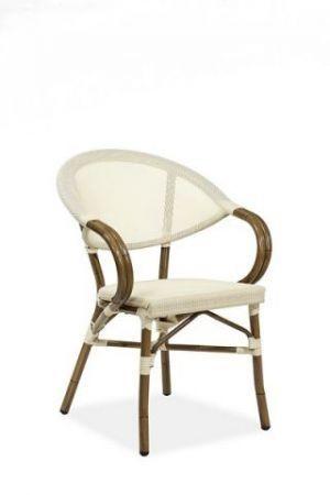 Zahradní židle stohovatelná LENA