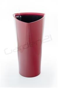 Samozavlažovací květináč G21 Trio červený 29.5cm