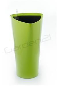 Samozavlažovací květináč G21 Trio zelený 29.5cm