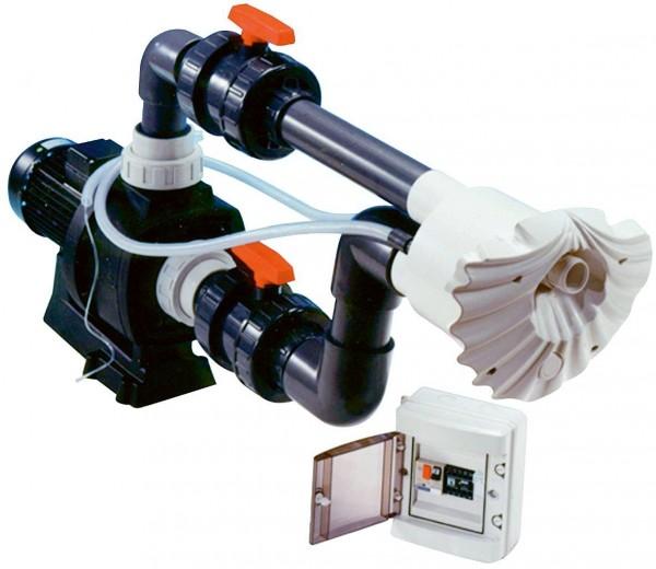 Protiproud K-JET Sena -- 40 m3/h, 230 V, 2,3 kW, pro fólii a předvyrobené baz. + ZDARMA DOPRAVA