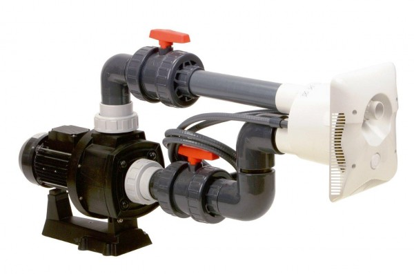 Protiproud K-JET Calipso -- 40 m3/h, 230 V, 2,3 kW, pro fólii a předvyrobené baz. + ZDARMA DOPRAVA