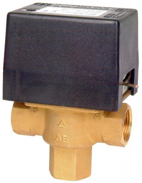"""Elektrický trojcestný ventil. Připojení 3/4"""" in 230 V + ZDARMA DOPRAVA"""