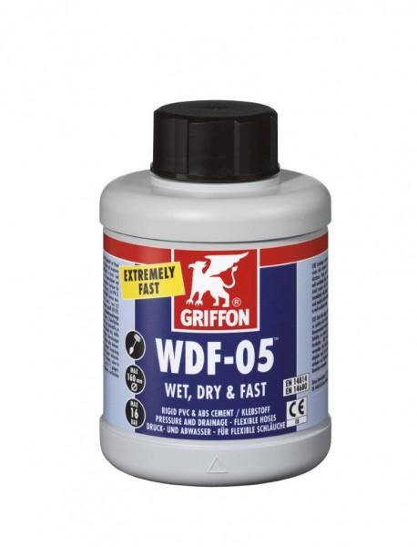 Griffon WDF05, PVC lepidlo 250 ml se štětcem pro flexi hadice