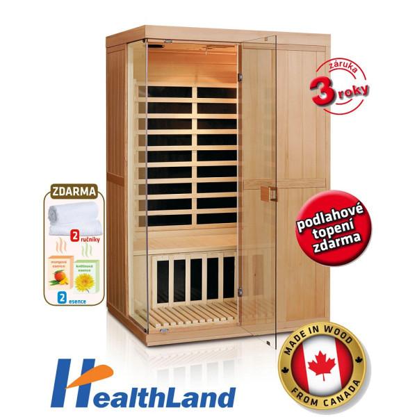 Healthland DeLuxe 2200 Carbon + ZDARMA DOPRAVA