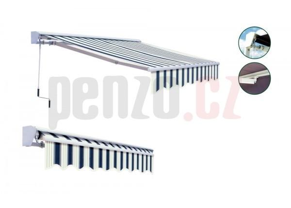 Markýza 4x2,5m S KRYTEM - vzor 318 + ZDARMA DOPRAVA
