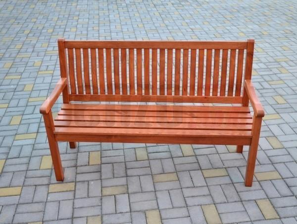 Zahradní lavice BOSTON - sv.hnědá (FSC) + ZDARMA DOPRAVA
