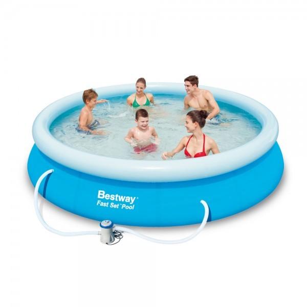 Bazén Bestway 57273 samostavěcí 366 x 76 cm bez filtrace