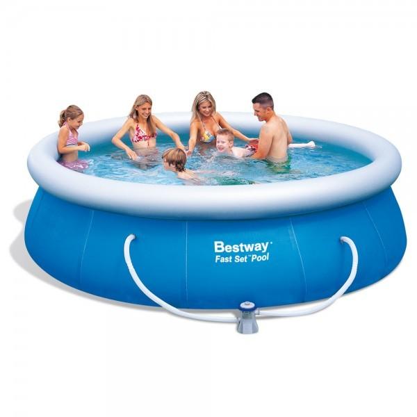 Bazén Bestway 57164 samostavěcí 366 x 91 cm bez filtrace