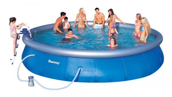 Bazén Besway 57088 samostavěcí 549 x 107 cm a kartušová filtrace + ZDARMA DOPRAVA
