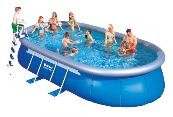 Bazén rodinný oválný 549 x 366 x 122 cm + ZDARMA DOPRAVA