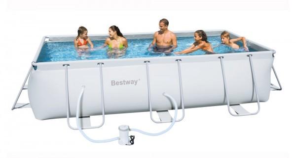 Bazén Bestway 56456 s konstrukcí 412 x 201 x 122 cm sada + ZDARMA DOPRAVA
