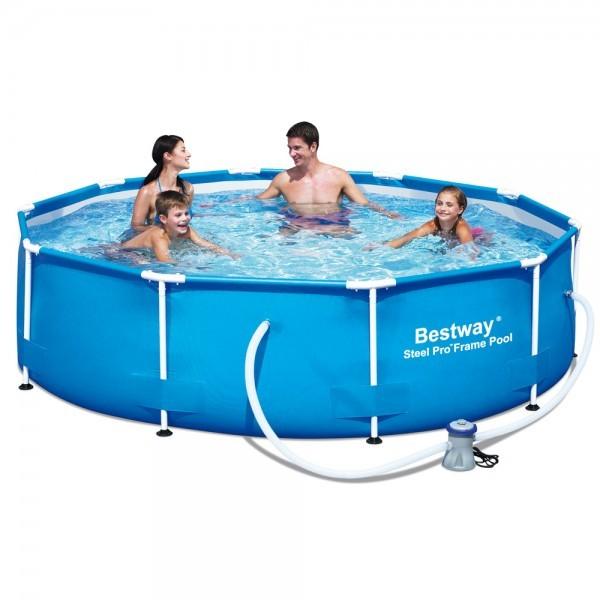 Bazén Bestway Steel Pro 56406 s konstrukcí 305 x 76 cm bez filtrace