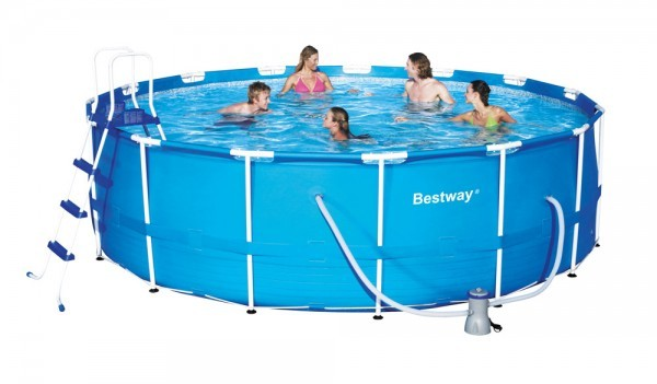 Bazén Bestway 56438 s konstrukcí 457 x 122 cm sada + ZDARMA DOPRAVA