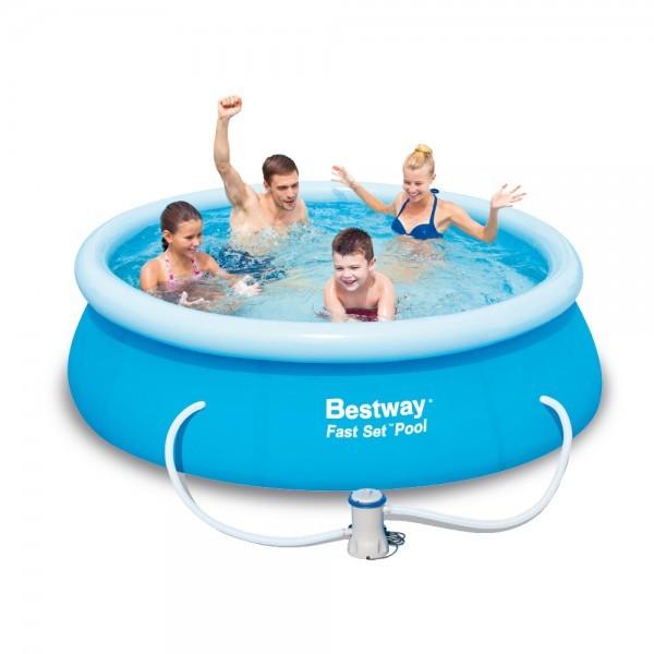 Bazén Bestway 572 68 samostavěcí 244 x 66 cm s filtrací