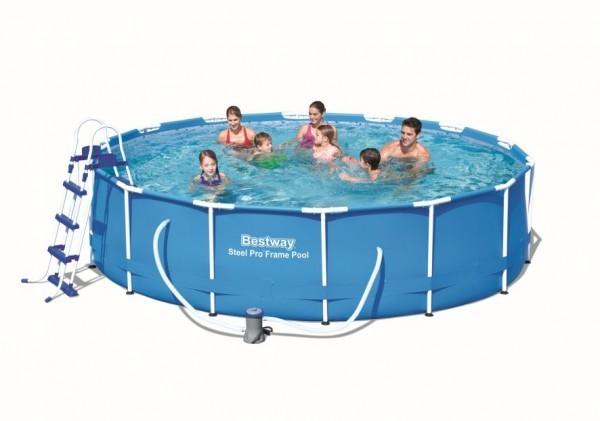 Bazén Bestway 56422 s konstrukcí 427 x 100 cm sada + ZDARMA DOPRAVA