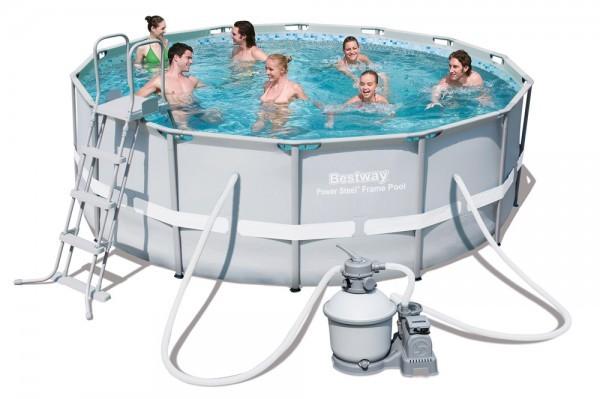Bazén rodinný s konstrukcí Power Steel 427 x 122 cm + ZDARMA DOPRAVA
