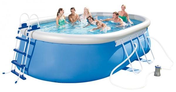 Bazén Bestway 56447 oválný 488 x 305 x 107 cm komplet + ZDARMA DOPRAVA