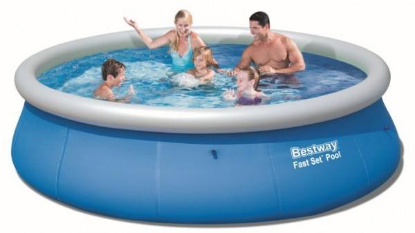Bazén Bestway 57319 samostavěcí 396 x 84 cm bez filtrace