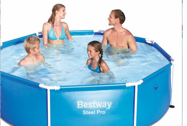 Bazén Bestway 56431 s konstrukcí 244 x 61 cm bez filtrace