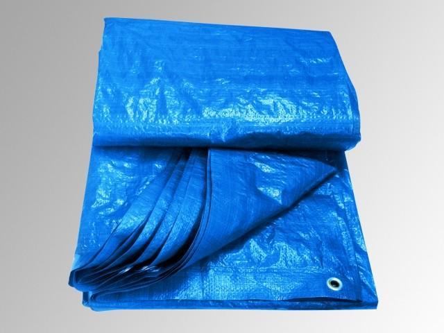 Krycí plachta modrý ovál 8 x 4,3m + ZDARMA Profesionální tester na chlor a pH v hodnotě 359,-
