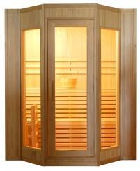 Finská sauna DeLuxe HR4045 + ZDARMA DOPRAVA