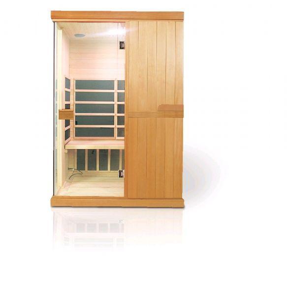 Infrasauna DeLuxe 2200 Carbon + ZDARMA Podlahové topení + Soudek piva 5l + Čistič saun 1l + ZDARMA DOPRAVA