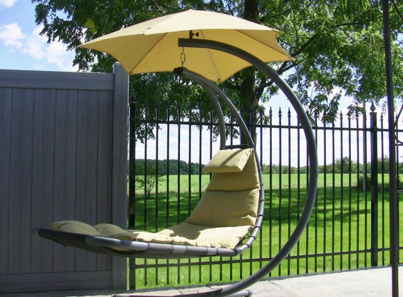 Závěsné houpací lehátko Vivere original Dream Chair, písková + ZDARMA DOPRAVA