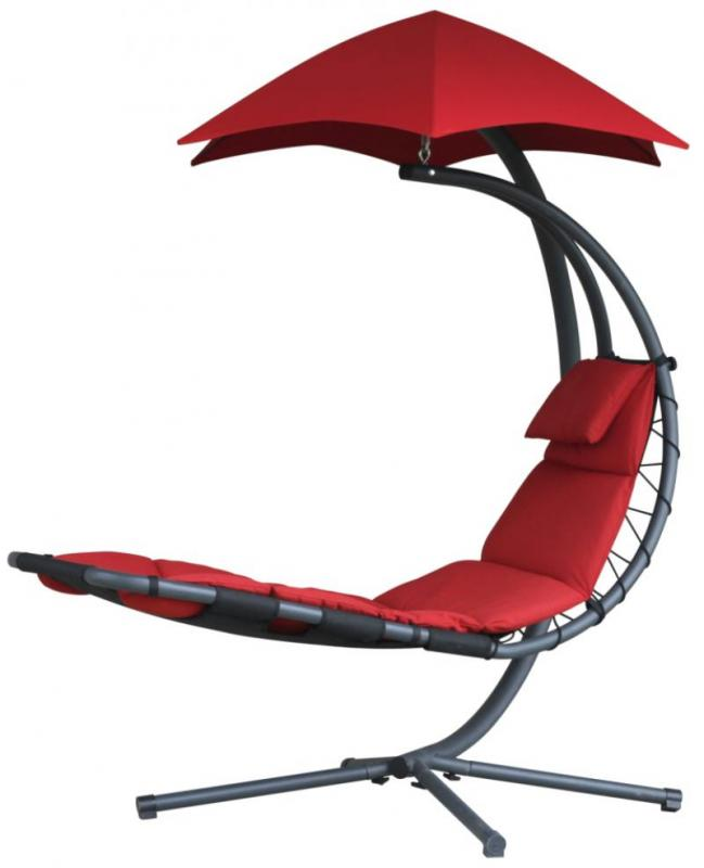 Závěsné houpací lehátko Vivere Original Dream Chair, Chery red + ZDARMA DOPRAVA