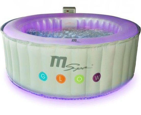 Hanscraft vířivka MSpa Glow M - 022 LS Lite + ZDARMA Náhradní kartuš + vůně do vířivky v hodnotě 990,- + ZDARMA DOPRAVA