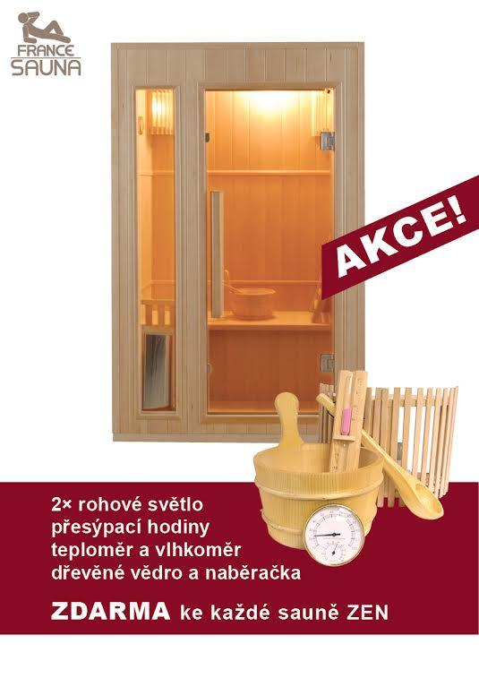 Finská sauna FRANCE SAUNA ZEN 2 + ZDARMA DOPRAVA