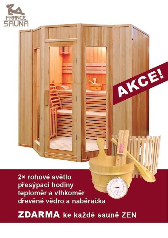 Finská sauna FRANCE SAUNA ZEN 5 + ZDARMA DOPRAVA